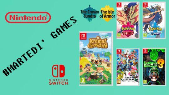 Le prossime uscite Nintendo tra DLC e non solo