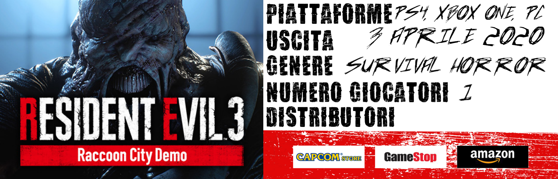 Resident Evil 3 Racoon City